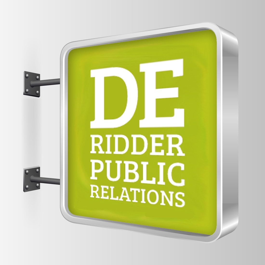 De Ridder Public Relations / ontwerp logo Tuesday